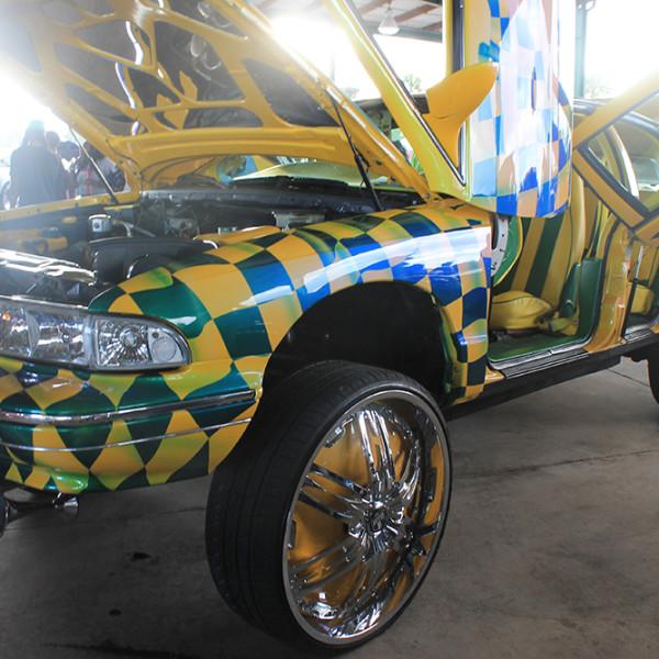 Riding-Big-Car-Show-Checkers