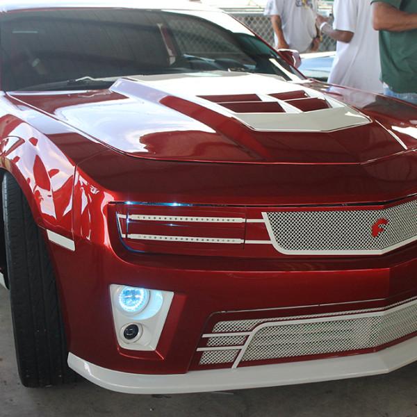 Riding-Big-Car-Show-Red-Car