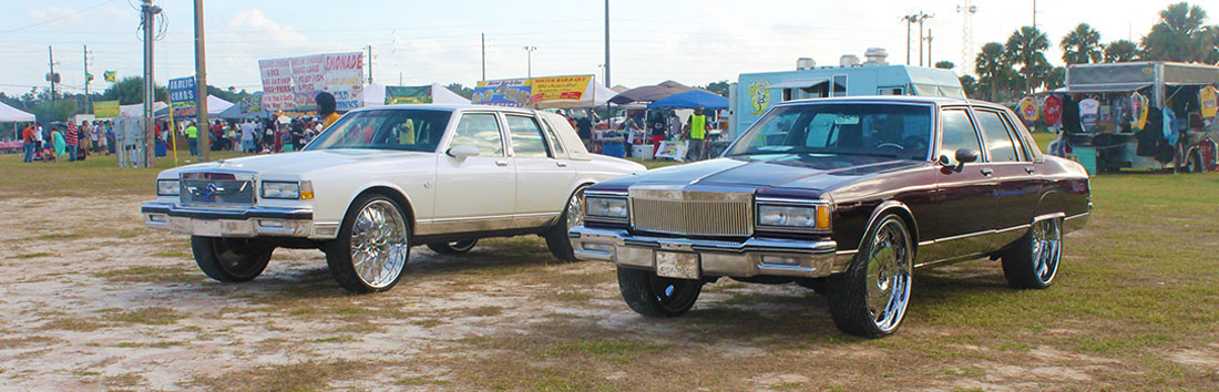RIDING BIG CAR SHOW 2014