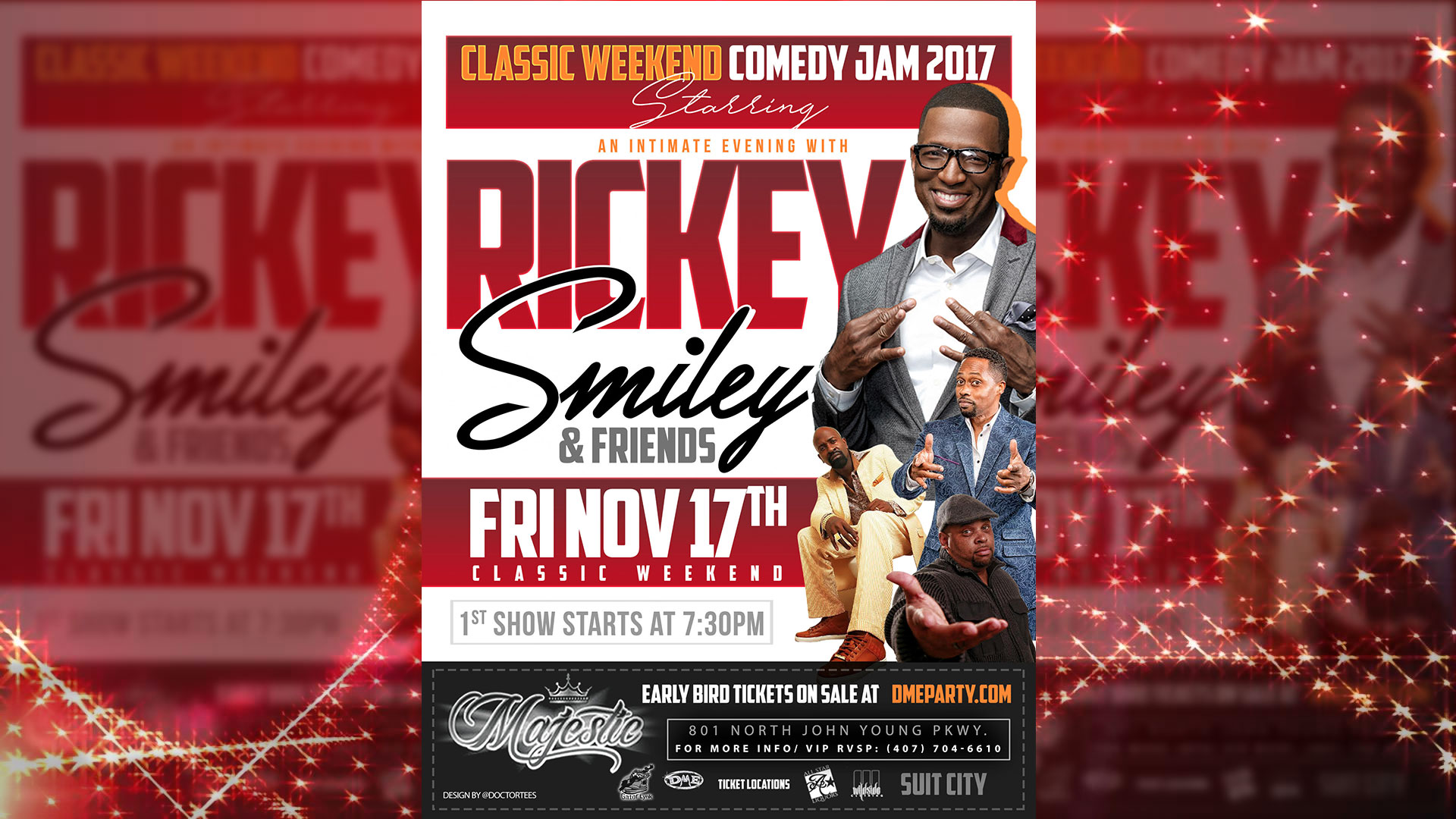Rickey Smiley 2017